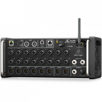Behringer XR18, цифровой микшерный пульт, 18 in, Wifi for iPad/Android Tablets