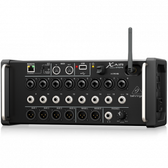 Behringer XR16, цифровой микшерный пульт, 16 in, Wifi for iPad/Android Tablets